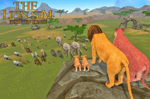 The Lion Simulator: Animal Family Game apktram screenshots 6