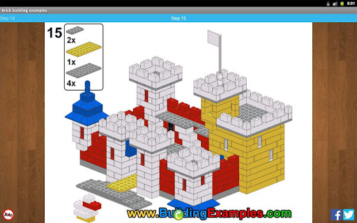 Brick building examples apkmr screenshots 9