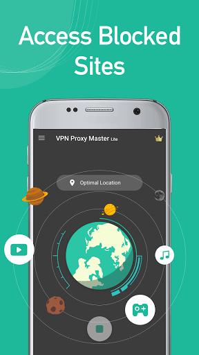 VPN Proxy Master lite - free&secure VPN proxy 1.0.9.1 screenshots 1