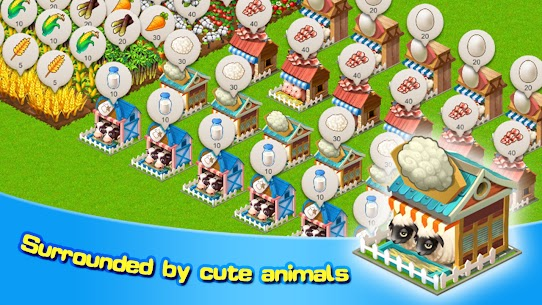 Sim Farm Mod Apk 1.0.1 (Unlimited Materials + Free Speed Up) 5