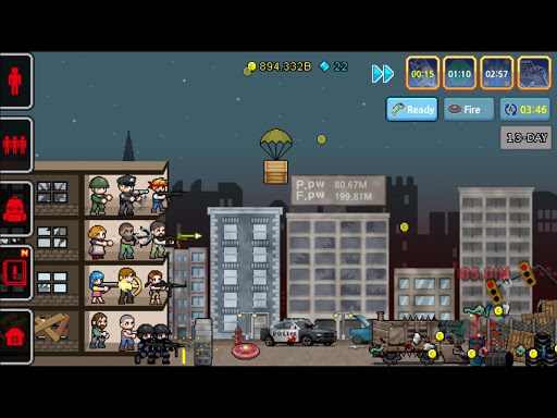 Code Triche 100 DAYS - Zombie Survival APK MOD (Astuce) screenshots 2
