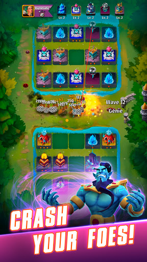 Random Clash - Epic fantasy strategy mobile games  screenshots 3