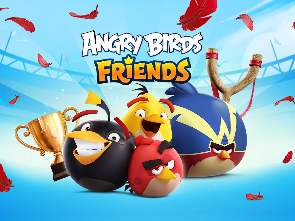 Angry Birds Friends poster 13
