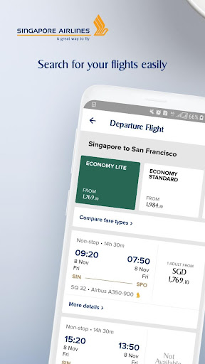 Singapore Airlines  screenshots 1
