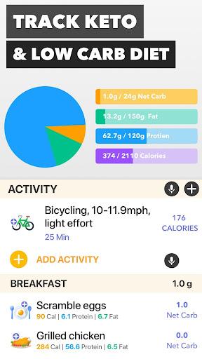 Keto Manager: Keto Diet Tracker & Carb Counter App  screenshots 1