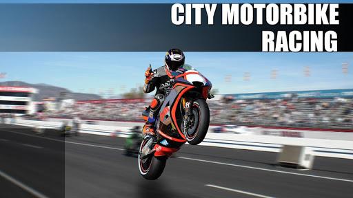 city motorbike racing screenshot 1