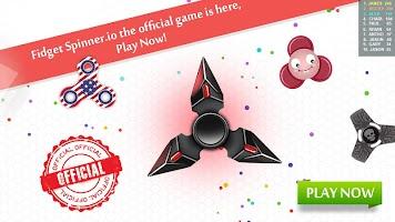 Fidget Spinner .io Realtime Multiplayer Battles