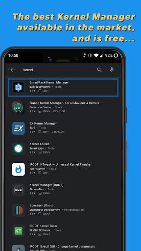 SmartPack-Kernel Manager  screenshots 1