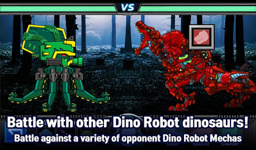 T-Rex Red - Combine! Dino Robot : Dinosaur games 2.1.9 screenshots 15