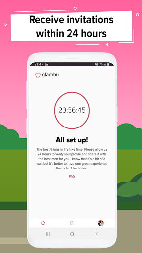 Glambu - dating app for real gentlemen 2.3.7 Screenshots 2