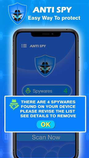 Anti Spy Free - Spyware Detector & Privacy Scanner 1.2 screenshots 2