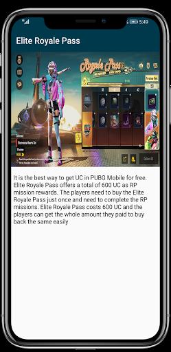 Free UC and Free Royal Pass  Screenshots 2