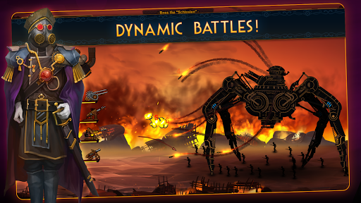 Steampunk Tower 2: The One Tower Defense Strategy screenshots 1