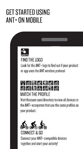 Foto do ANT+ Plugins Service