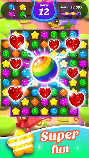 Gummy Candy Blast - Free Match 3 Puzzle Game 1.4.4 screenshots 6