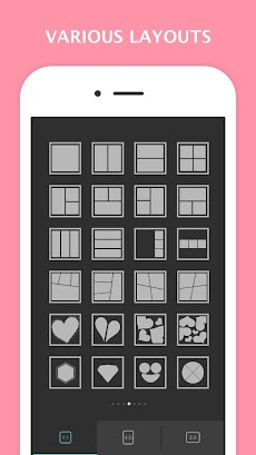 Mixoo - 写真コラージュ編集、インスタグラム用レイアウトのおすすめ画像4