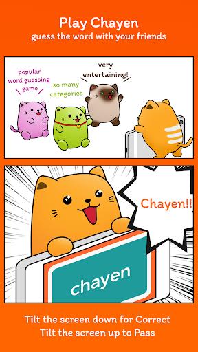 Chayen - charades word guess party modiapk screenshots 1