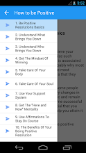 How to be Positive screenshot thumbnail