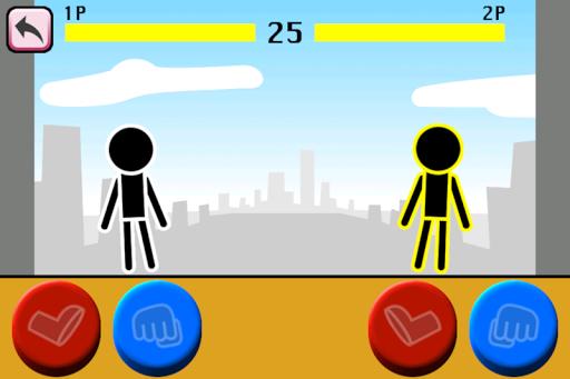 Fighting games Mokken: stick man battle modavailable screenshots 9