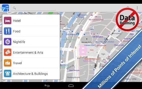 Amsterdam Offline City Map