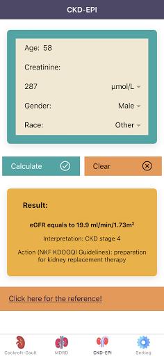 eGFR Calculators Pro: Renal or Kidney Function  screenshots 3