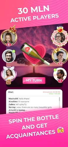 Kiss Me: Spin the Bottle for Dating, Chat & Meetのおすすめ画像2