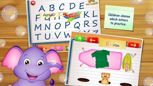 123 Kids Fun ALPHABET: Alphabet Games for Kids screenshots 3