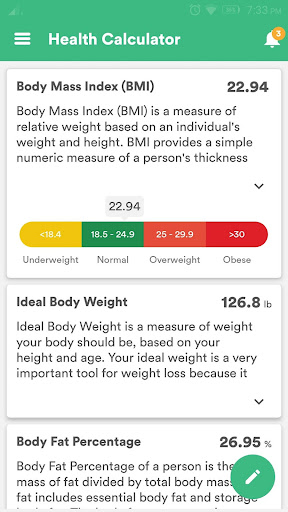 Health & Fitness Tracker with Calorie Counter 2.0.85 Screenshots 8