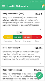 Health & Fitness Tracker with Calorie Counter screenshots 8