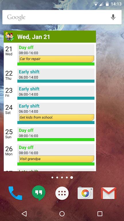 Shift Work Calendar (FlexR Pro)  poster 7