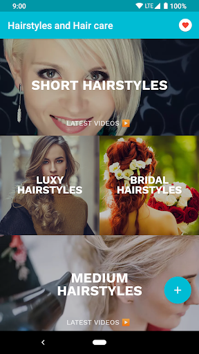 Hairstyles for your face : Free Hair salon 3.0.153 Screenshots 14