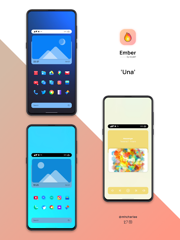 Ember for KLWP  poster 2