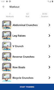 Six Pack Abs Workout at Home 1.6 Screenshots 6
