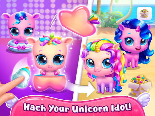 Kpopsies - Hatch Your Unicorn Idol modavailable screenshots 21