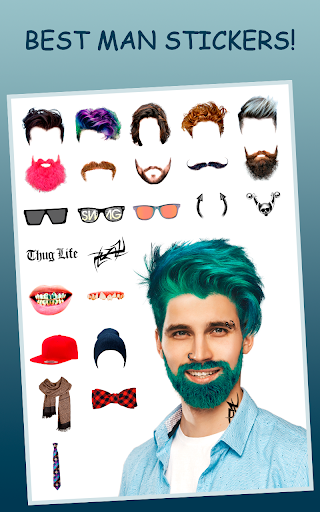 Men Makeup Photo Editor Handsome!ud83cudfc6 1.4.8 Screenshots 5