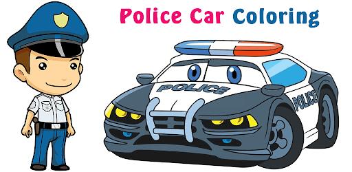 Police Car Coloring Book - Glitter Cars Draw - التطبيقات على Google Play