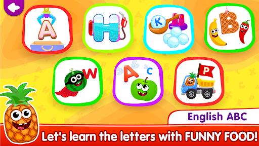 Funny Food!ud83eudd66learn ABC games for toddlers&babiesud83dudcda 1.8.1.10 screenshots 17