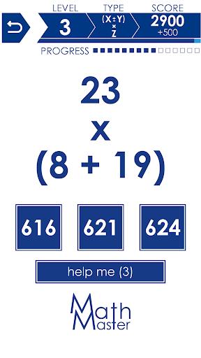 Math Master - Math games 2.9.9 screenshots 3