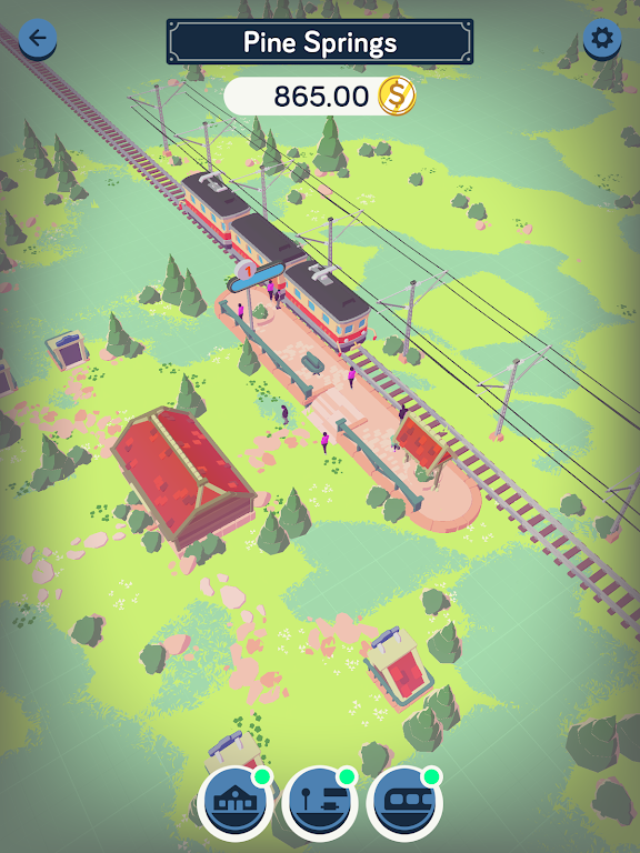 Train Station Idle Tycoon  poster 10