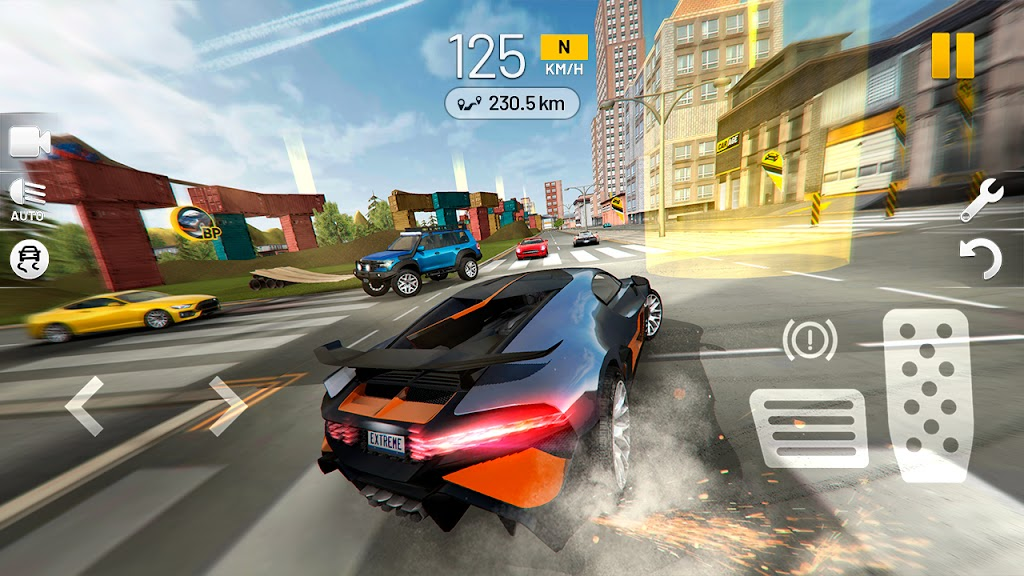 Extreme Car Driving Simulator poster 0