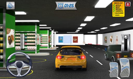 Drive Thru Supermarket: Shopping Mall Car Driving 2.3 screenshots 7