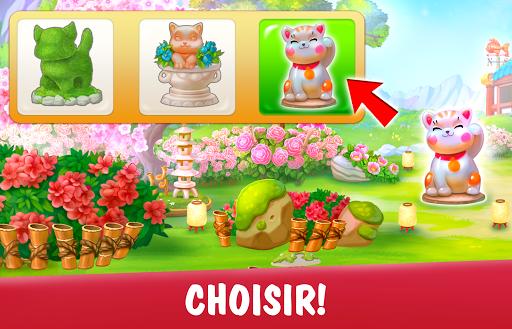 Télécharger gratuit Garden Pets Puzzle – Jeu de Match 3 gratuit APK MOD 2