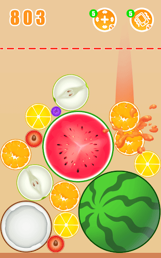 Fruit Crush - Merge Watermelon  screenshots 3
