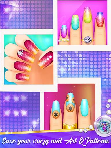 Nail Salon Manicure - Fashion Girl Game apkmr screenshots 6