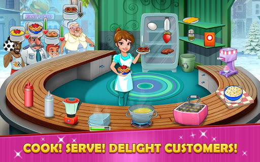 Kitchen story: Food Fever – Cooking Games  screenshots 1