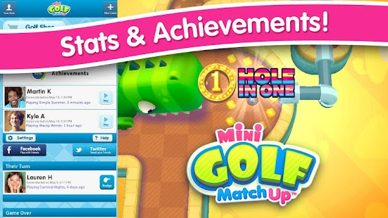 Mini Golf MatchUp™ Screenshot