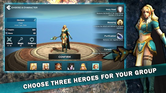 Fantasy Heroes: Legendary Raid Mod Apk 0.2 2