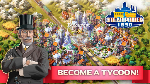 SteamPower 1830 Railroad Tycoon apkslow screenshots 1