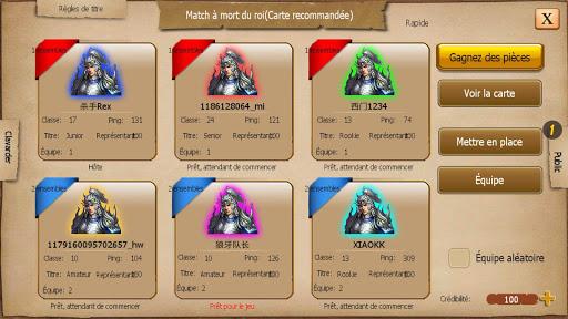 War of Empire Conquest:3v3 Arena Game captures d'écran apk mod pirater preuve 2