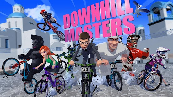 Downhill Masters Screenshot